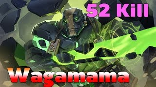 [Dota2] Wagamama Earth Spirit 52 Kill [ Wagamama Gameplay ]