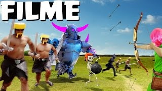 CLASH NA VIDA REAL [O FILME] // CLASH OF CLANS IN REAL LIFE - BRUNO CLASH