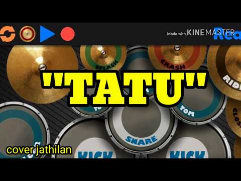 tatu-versi-jathilan-||-cover-real-drum