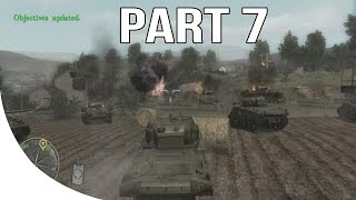 Call of Duty 3 Gameplay Walkthrough Part 7 - No Commentary Let