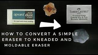 Gambar cover DIY | How to make kneaded eraser |