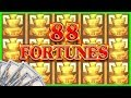 88 Fortunes BIGGEST Bets & WINS EZ Life Slot JACKPOTS ...