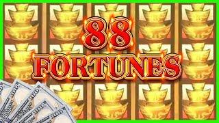 💵 88 Fortunes BIGGEST Bets & WINS ✦ EZ Life Slot JACKPOTS