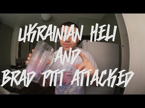 UKRAINIAN HELICOPTER SHOT DOWN AND BRAD PITT ATTACKED - RSDS 5.29.14