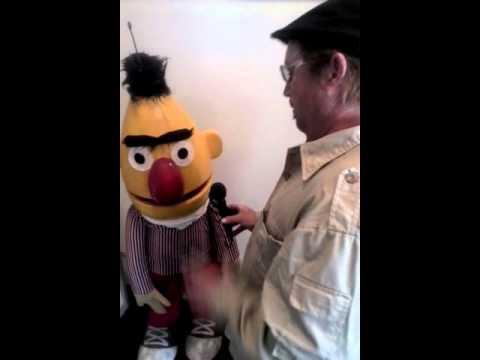Sesame Street interview With Bert (is he gay?)