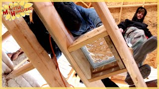Basement Natural Light & Airflow | Underground Earthbag Building Ep 20 | Weekly Peek