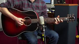 Gibson Slash J45 Demo and Sound Overview