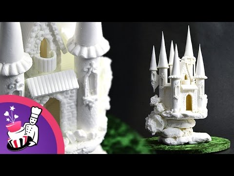 fairy castle wedding cake topper sugar fairytale castle cake topper tutorial by yeners 14093