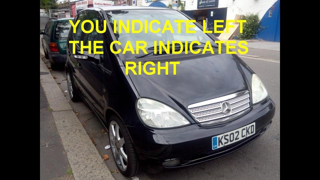 Mercedes Benz E320 Turn Signal Problem