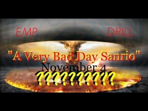 """A VERY BAD DAY"" SCENARIO / EMP DRILL STILL HAUNTS US / WE DO NOT CONSENT"