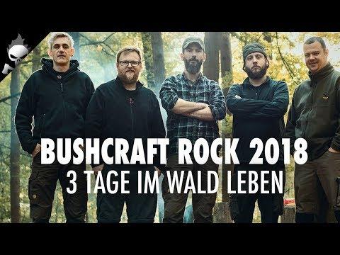 48H BUSHCRAFT ROCK! Mit Sicky, Haui, Matze und Felix Immler im Pfälzerwald zum Schnitzen & Bauen