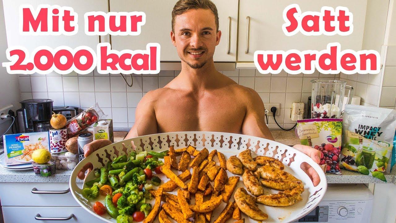 Diät für 1400 Kalorien täglich