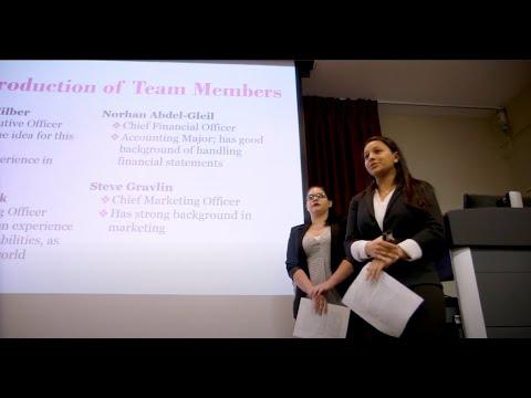 Rider University's Business in Action Program