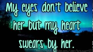 Repeat youtube video Baby Blue Eyes   A Rocket To The Moon LYRICS