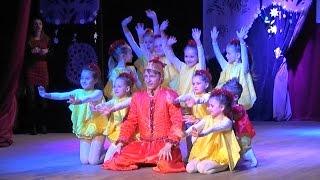 """Дитячий новорічний танець """"Ку-ку-рі-ку"""" - танцювальний колектив СВУМіК"""