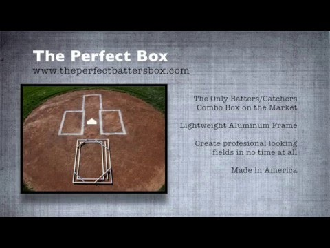 How to Use - The Perfect Batter\'s Box Template - YouTube