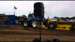 TG 230.11 ton trekkertrek hoogblokland 2014 ploege