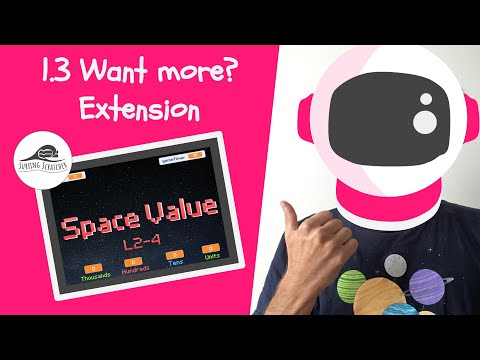 Place Value Scratch Game Tutorial | 1.3 Space Value | Extension for Advanced Scratch thumbnail