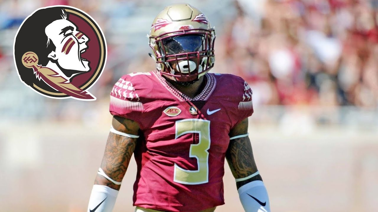 separation shoes 6d468 d63fc Derwin James || Hardest Hitting Saftey In College Football || Official FSU  Highlights