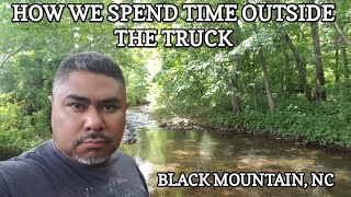 How we spend time outside the Truck - Black Mountain, NC