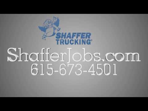 Tennessee Trucking Jobs | 888-497-9110 | Shaffer Trucking