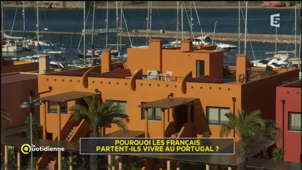 Pourquoi Les Francais Partent Ils Vivre Au Portugal Youtube