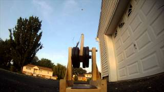 Trebuchet Tennis Ball Launcher