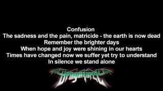 DragonForce - The Sun Is Dead   Lyrics on screen   Full HD Mp3