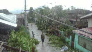 台風グレンダ 2014年7月 ビコール地方 1