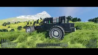 Space Engineers [21:9] - Car high speed drive perfomance