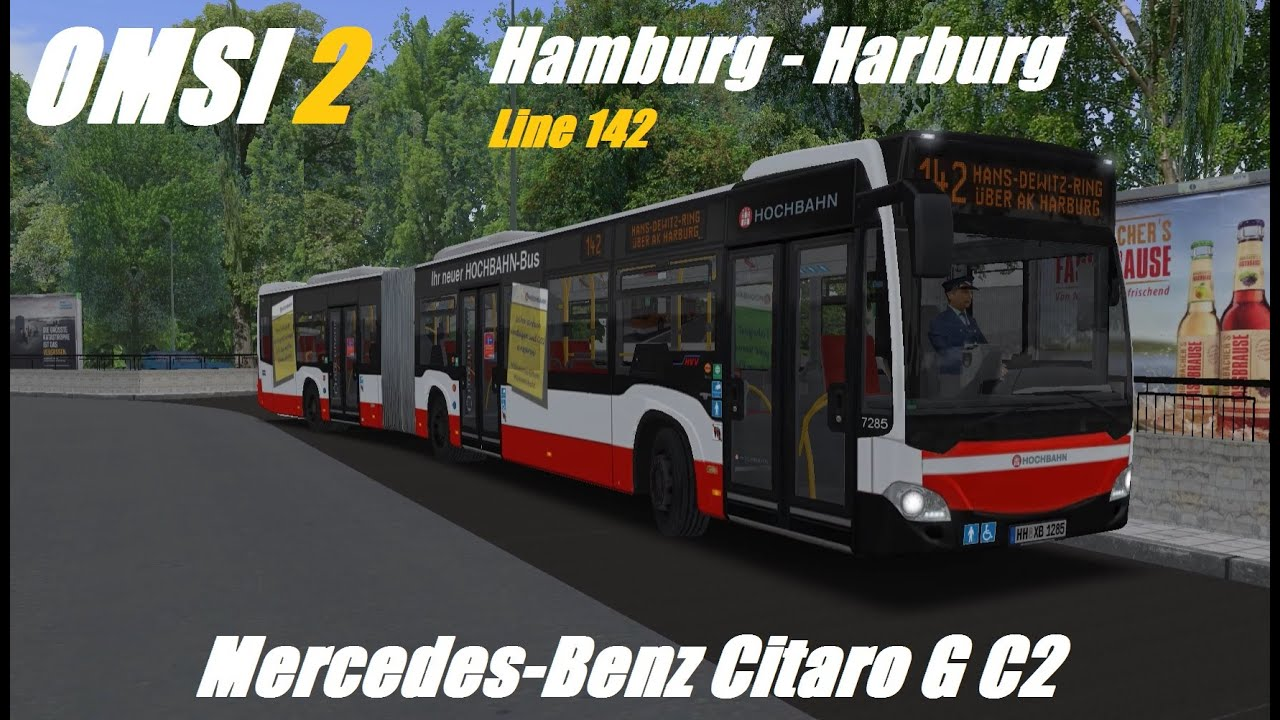 omsi 2 hamburg harburg line 142 mercedes benz citaro. Black Bedroom Furniture Sets. Home Design Ideas
