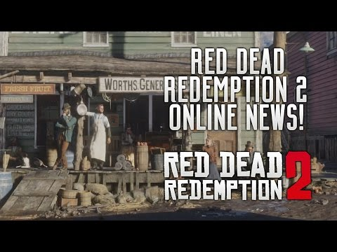 Red Dead Redemption 2 - FIRST ONLINE NEWS! PS4 First Access Content & RDR COMING TO PS4 & PC! RDR2