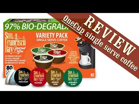 Review: ONECUP - 97% BIODEGRADABLE Single Serve Coffee for Keurig Brewers