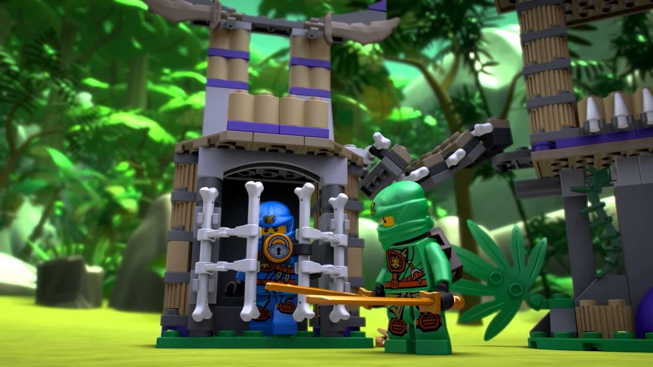 LEGO Ninjago - 70749 Wężowe wrota - YouTube