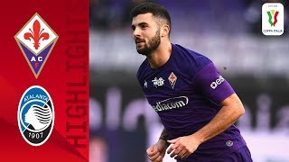 Fiorentina 2-1 Atalanta | Cutrone Scores his First for Fiorentina! | Round of 16 | Coppa Italia