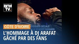 L'hommage à DJ Arafat gâché par des fans qui ouvrent sa tombe