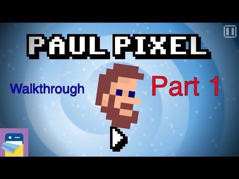 Paul Pixel - The Awakening: Walkthrough Guide Part 1 & iOS iPhone 6S Gameplay (by Xoron GmbH)