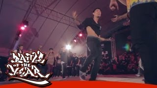 BOTY 2013 SOUTH ASIA - PRELIMINARY - FINAL - METRO GROOVER (THA) vs S.I.N.E. (VNM) [BOTY TV]