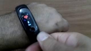 Smartband M3 PLUS (funções e instalação)