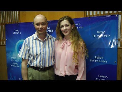 Vlad MIRCOS si Maria CODREANU la Radio Moldova (08.06.2016)