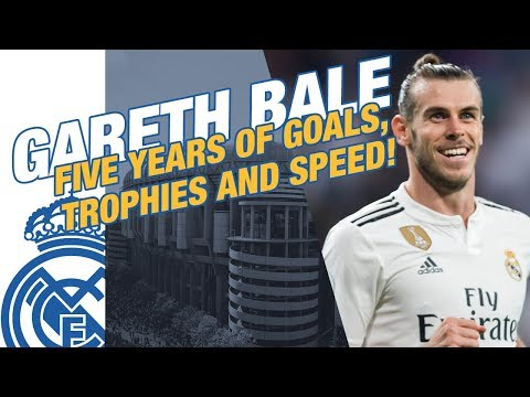 GARETH BALE | Five years of GOALS, TROPHIES and SPEED!
