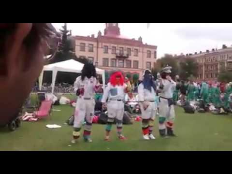 Halmstad University: Aliens: Exchange students: Nollning 2014