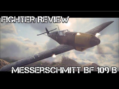 Fighter Review --- Messerschmitt Bf 109 B --- World of Warplanes