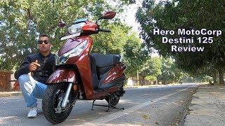 Hero Destini 125 motorcycles