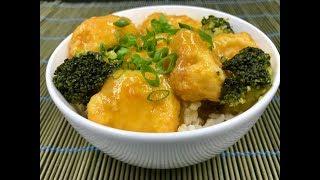 Куриное филе с апельсиновым соусом | Orange chicken рецепт | Готовим пп наггетсы