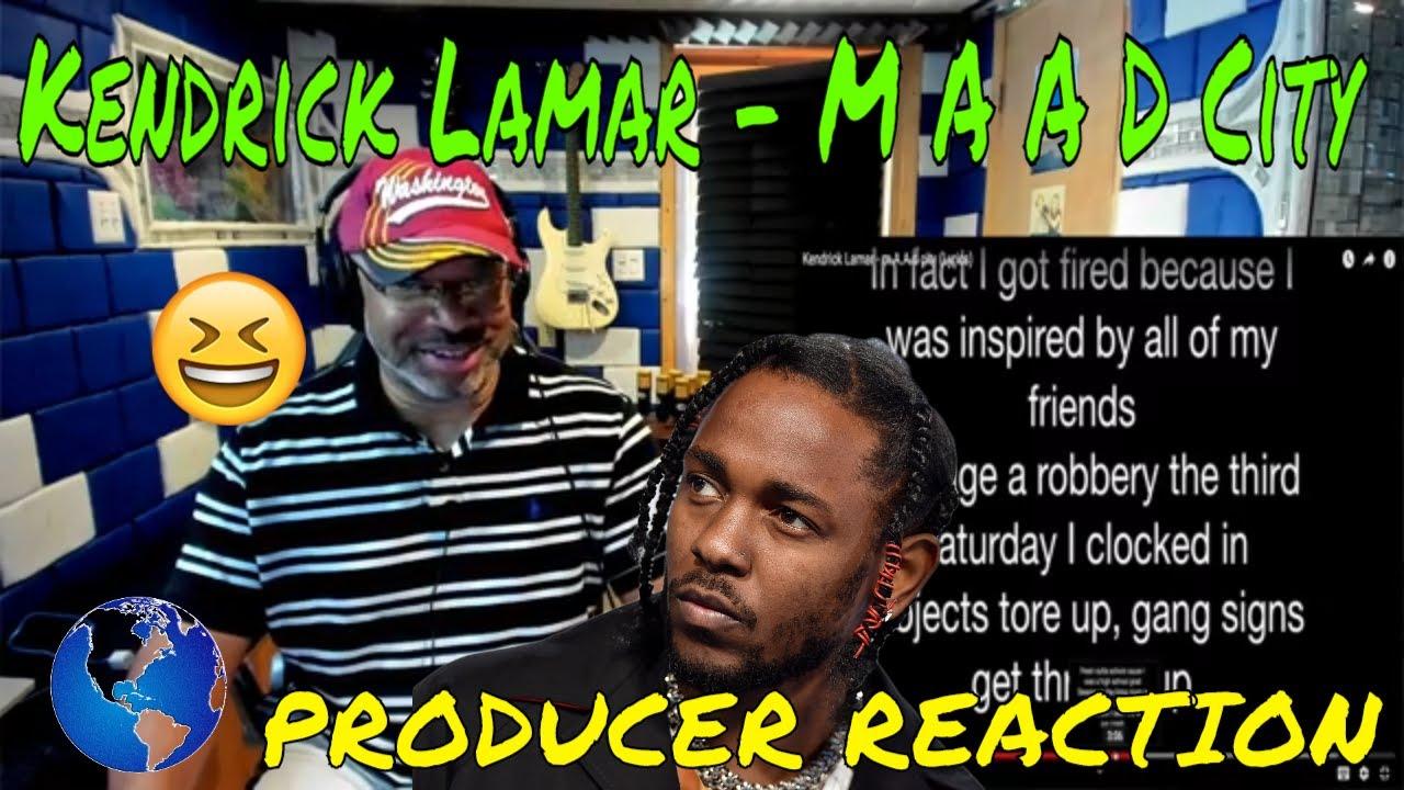 Kendrick Lamar M A A D City Lyrics Producer Reaction Youtube Zobacz słowa utworu m.a.a.d city (feat. kendrick lamar m a a d city lyrics producer reaction