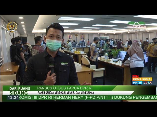 LIVE STREAMING - RAPAT PANSUS OTSUS PAPUA DPR RI