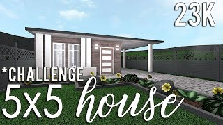 ROBLOX | Bloxburg: 5x5 House Challenge 23k