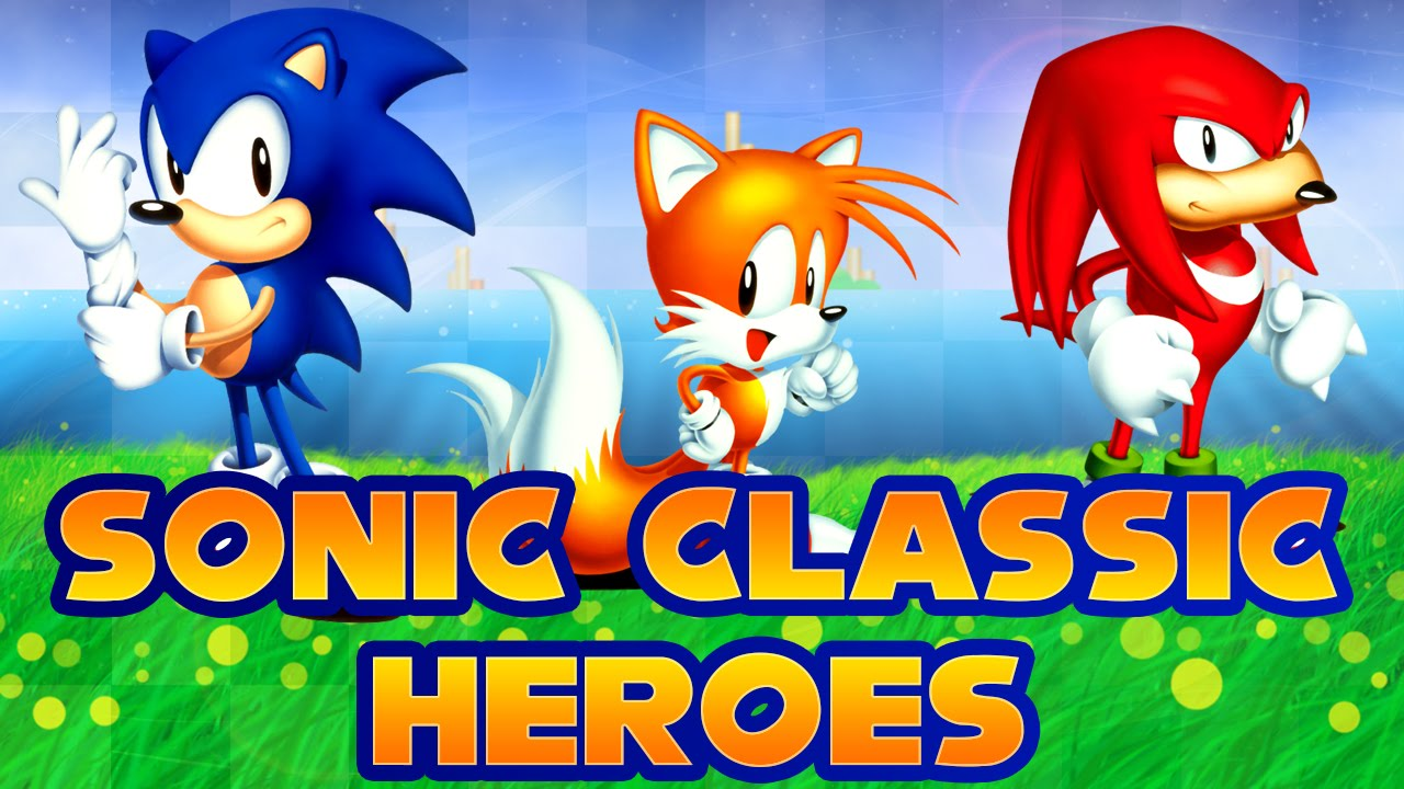 Sonic Classic Heroes Walkthrough Youtube