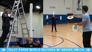 Brodie Smith Toilet Paper Trick Shots & World Records thumbnail